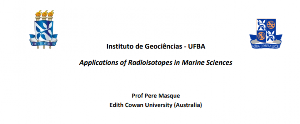 Applications of Radioisotopes in Marine Sciences